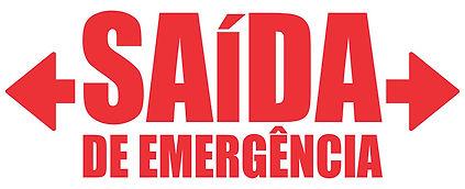 GGE0813  - saida_emergencia_seta_vermelh
