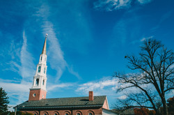 Church with tall steeple