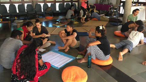 The Auroville Peer Education Network Meet Up Again!