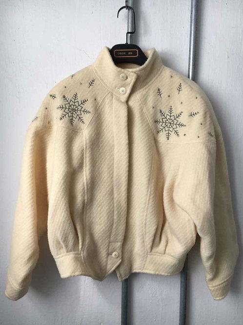 Short fleece coat 1