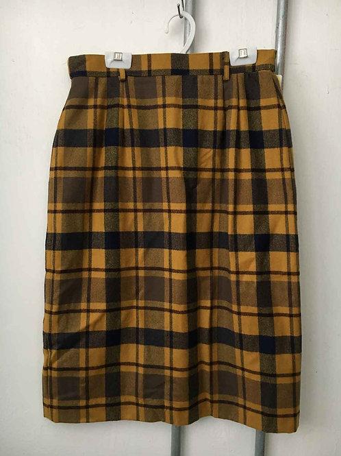 Checkered skirt 7