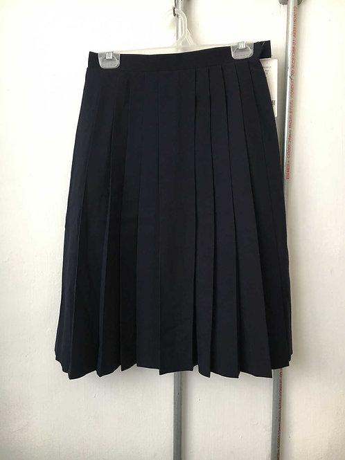Japanese pleated school uniform skirt