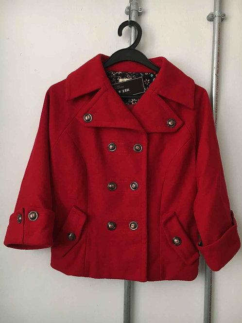 Women's short fleece coat 12