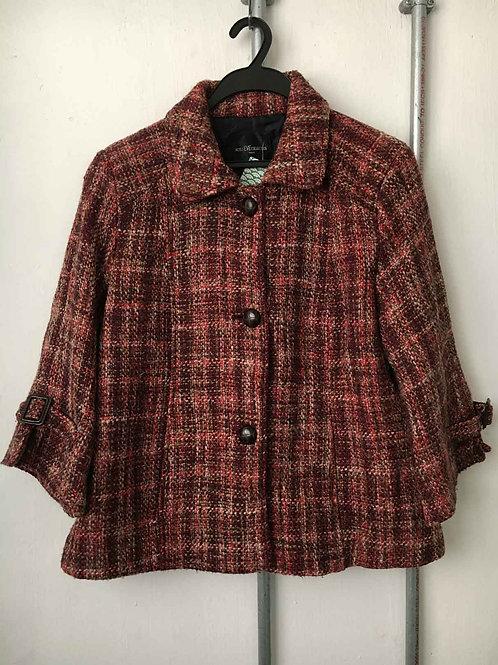 Women's short fleece coat 15
