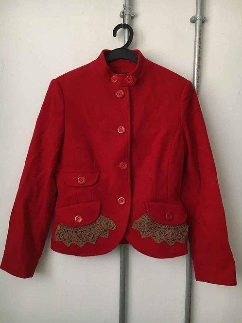 Women's short fleece coat 13