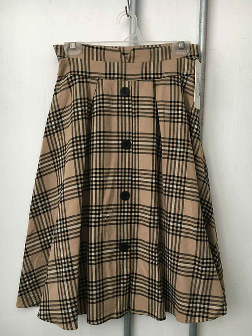 Checkered skirt 8