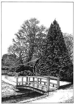 Footbridge, Upper-Gardens