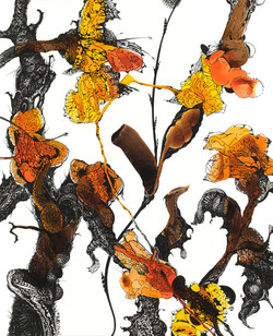 'Orange with Creatures'