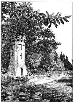 Water tower - Upper Gardens