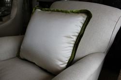 5. Ruche trim cushion