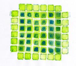 Colour Squares2 size 440x440mm