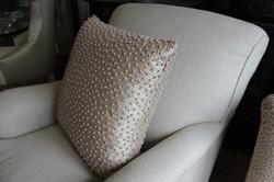 9. Standard cushion with seam stitch edges