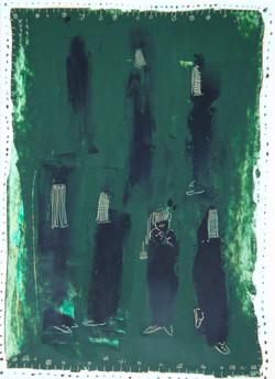Black_on_Green,_1998,_31,5x22,5,_Oil_on_paper,_Ali_Yadegar_Youssefi,_Preis_500,00_€