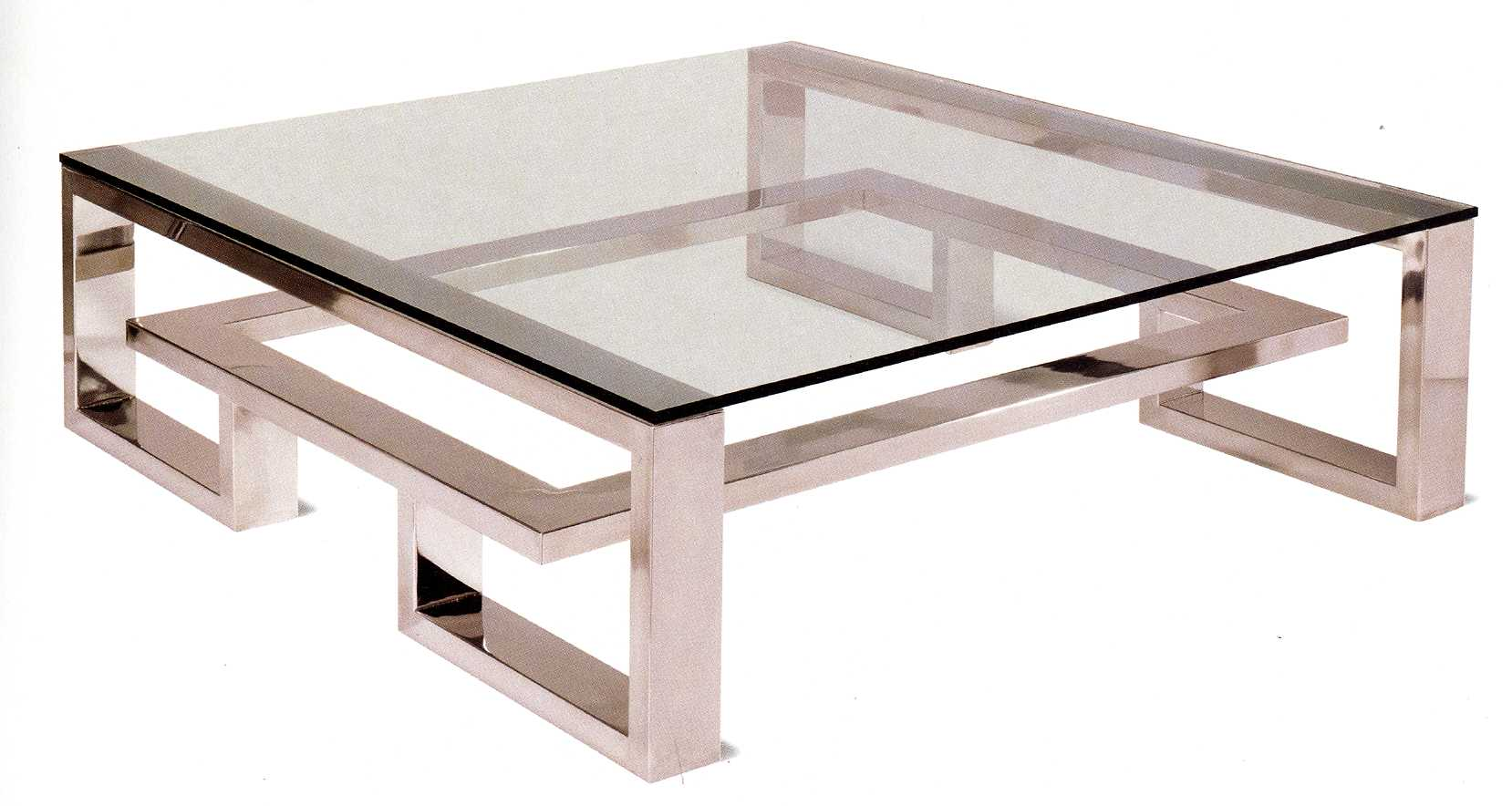 brooklyn coffee table stainless steel009