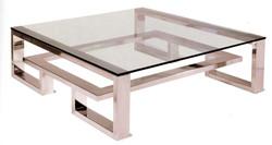 brooklyn coffee table stainless steel009