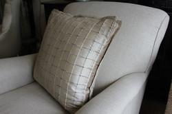 2. Pillow bordered cushion