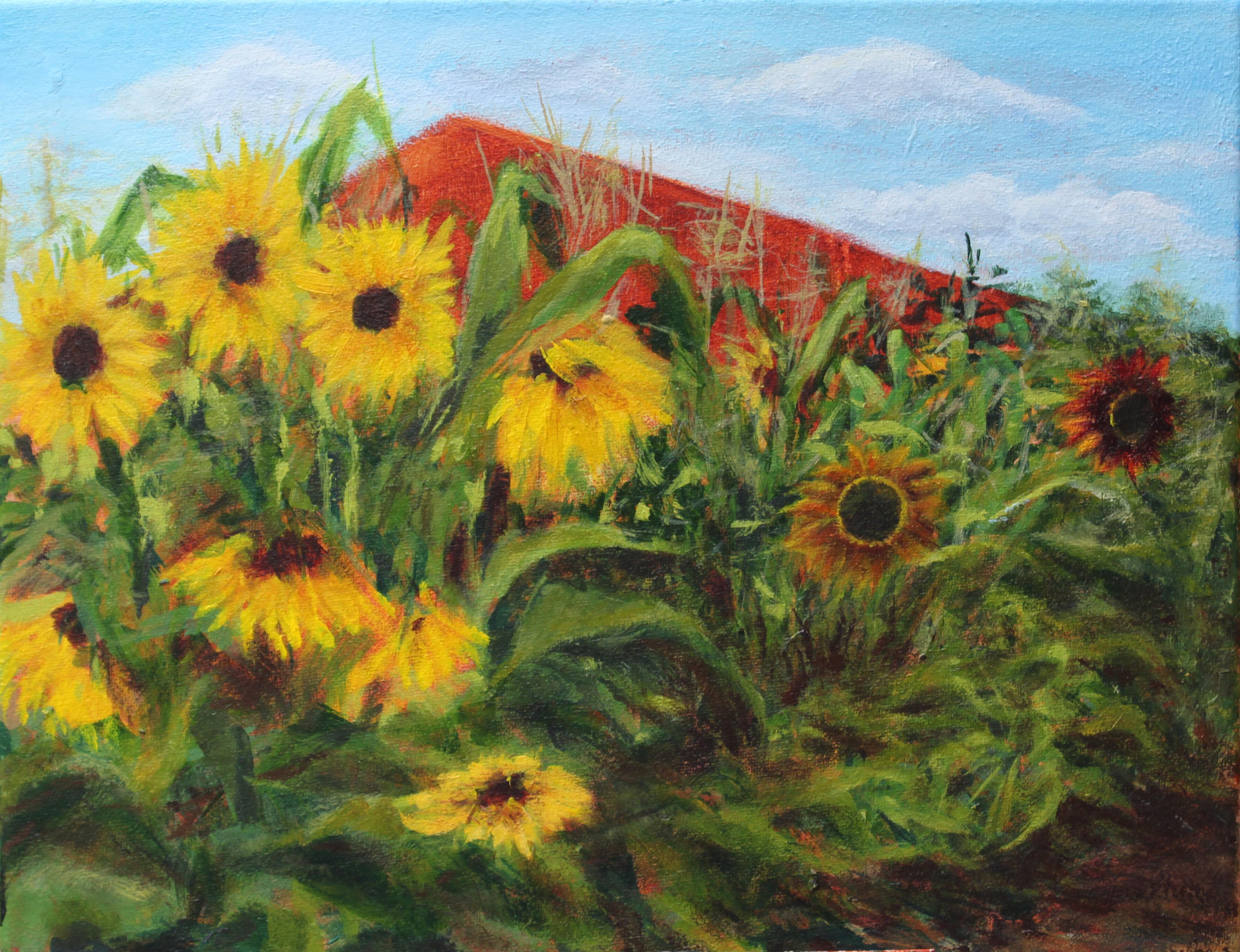 Cathy Lorraway Sunny Farm Day