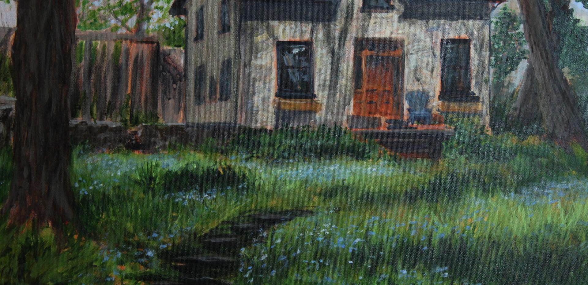 McClean House, Elora, Plein Air