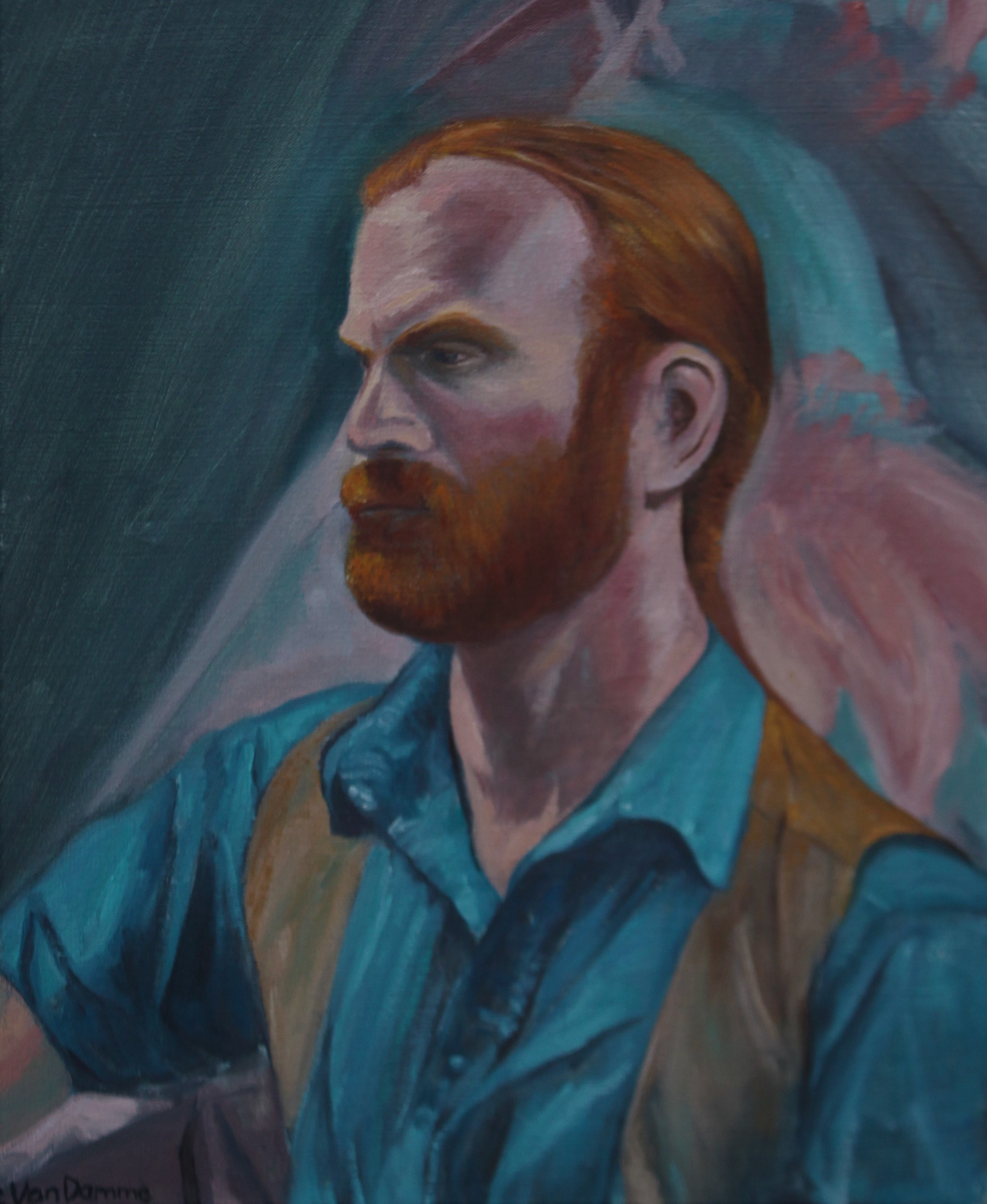 """Red Beard Portrait Study"""