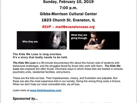 "Screening of ""The Kids We Lose"""
