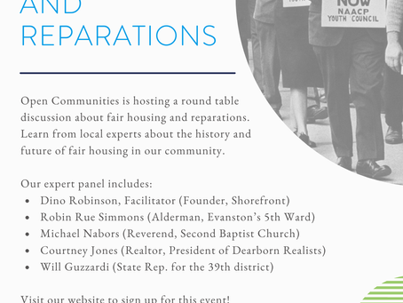 The history of fair housing and reparations.