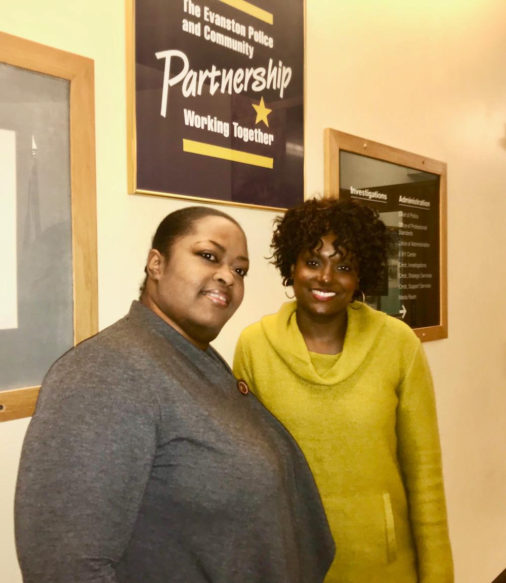 Ariel Jackson and Kelli Nelson, EPD Victim Services Advocates