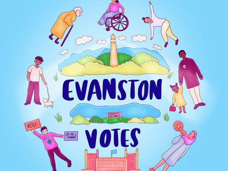 Early voting for the February 23 primary in Evanston starts today, February 8.