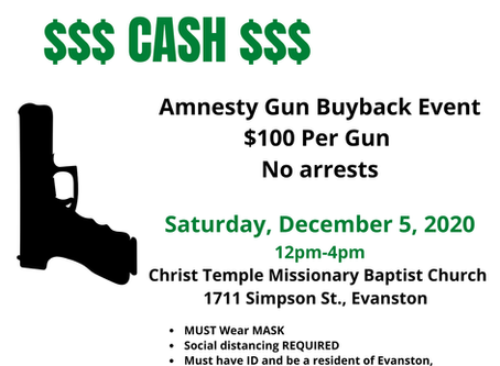 EPD to hold gun buyback December 5