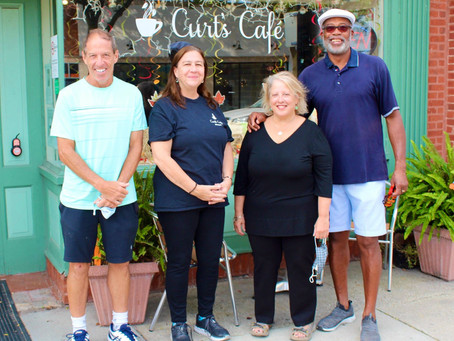 Curt's Cafe is finally home.