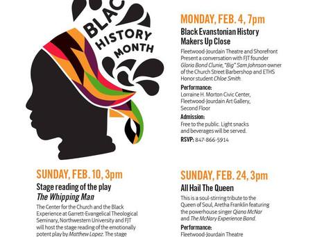 Celebrate Evanston's Black History, Black Theatre