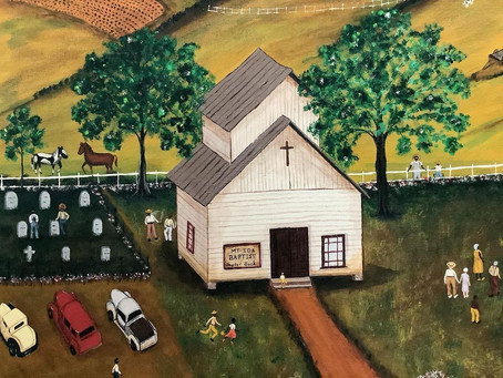"""""""Up from Down Home"""" exhibit at 1100 Florence."""
