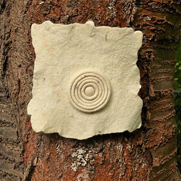 Spirale am Kirschbaum