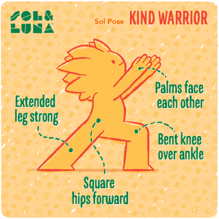 Kind Warrior Pose