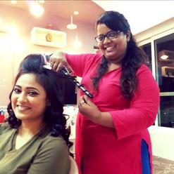 Shweta Tiwari - Hair