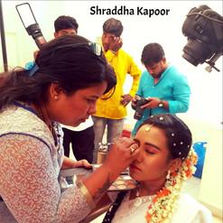 With Shraddha Kapoor
