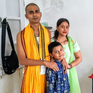 Guruji's Family during Havan