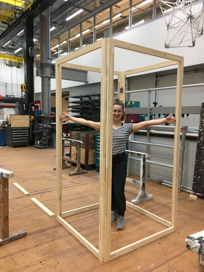 Frame of the testcube