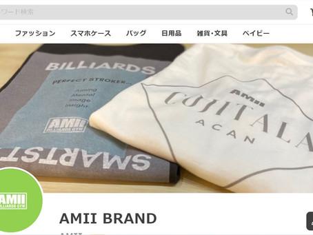 AMII公式グッズ販売開始|大阪市|ビリヤードジム|Tシャツ