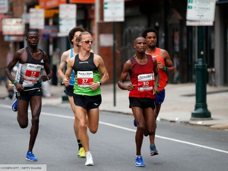 Parker Stinson Shares How He's Fueling Up for the Chicago Marathon