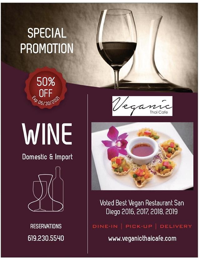 Promo June 2021 Veganic Thai Cafe