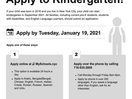 Apply to Kindergarten
