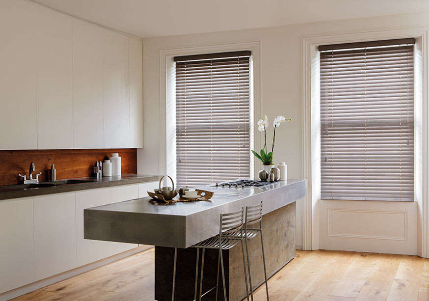 Hand crafted venetian blinds