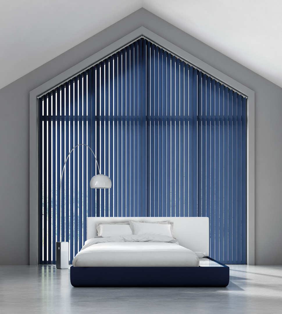 Unique fabric blinds