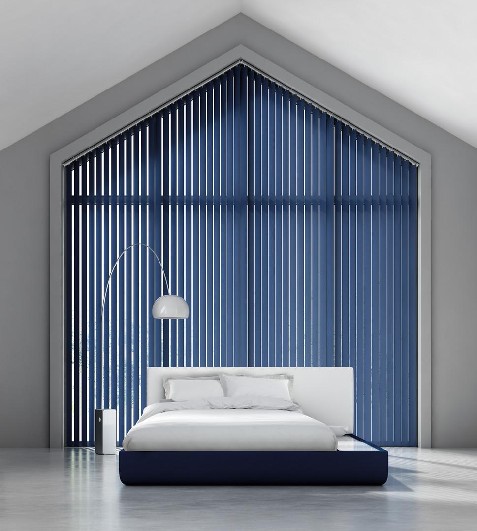 Unique fabric blinds