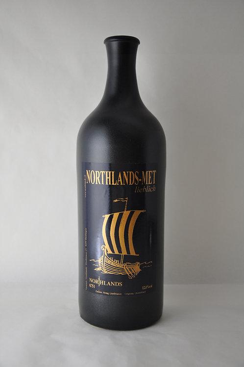 MET-Honigwein lieblich in Steinflasche