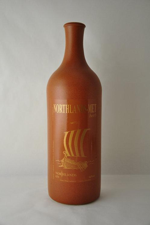 MET-Honigwein herb in Steinflaschen