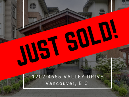 ✨ JUST SOLD BY ULIX Real Estate Group ✨1202 - 4655 VALLEY DRIVE, VANCOUVER