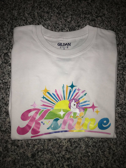 K-shine  Adult  T-shirt