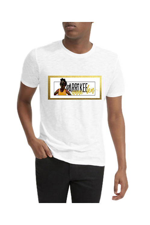 Men's White Crew Neck T-Shirt