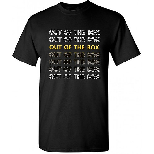 Out Of The Box Unisex T-Shirt (Black)